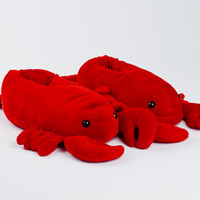 Lobster Slippers | Animal Slippers | BunnySlippers.com