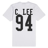 Caspar Lee-Unisex White T-Shirt