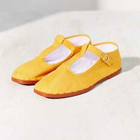 T-Strap Mary Jane- Yellow