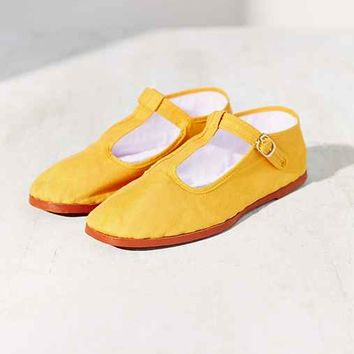 T-Strap Mary Jane- Yellow from Urban Outfitters  6431476f4