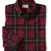 Scotch Plaid Flannel Shirt, Traditional Fit: Flannel, Chamois and Lined | Free Shipping at L.L.Bean