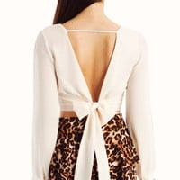 cropped-tie-back-top IVORY MINT TOMATO - GoJane.com
