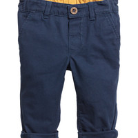 Cotton Chinos - from H&M