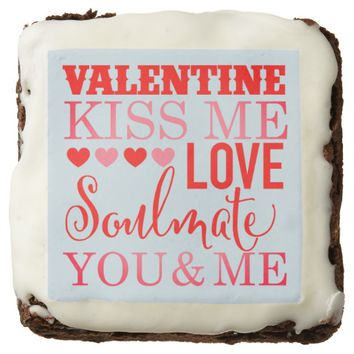Valentine Kiss ME: Dozen Brownies