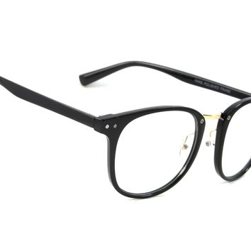 Retro Clear Lens Glasses Genius Fashion Smart Style Men Women Square Frame