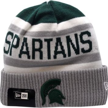competitive price 98332 ee133 Michigan State Ncaa Stadium Knit Beanie Hat By New Era At Hatland