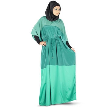 Perfect Elegant Three Color Kaftan, Caftan, Jalabiya, Muslim Abaya Dress, Ladies Maxi, Islamic Clothing, Soft Crepe Fabric  KF-015