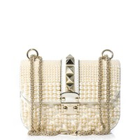 The Lock pearl shoulder bag | Valentino | MATCHESFASHION.COM