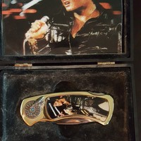 Elvis Presley collectible knife