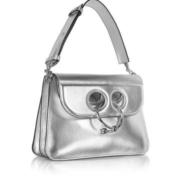JW Anderson Medium Silver Pierce Bag