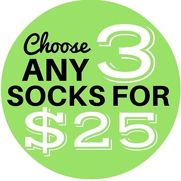 3 Sock Bundle - Women's