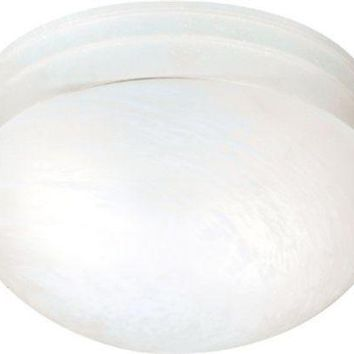 """Nuvo 60-2637 - 9.5"""" Flush Mount Ceiling Light in Textured White Finish"""