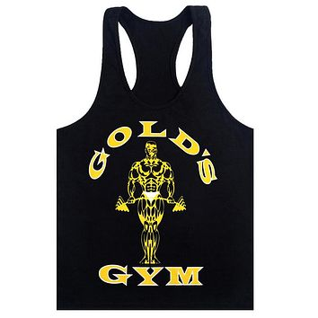 Golds Tank Top Men Sleeveless Shirt
