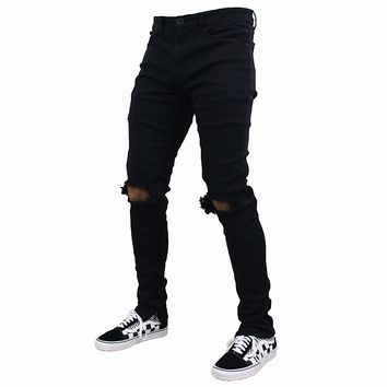 Tory Distressed Jeans (Black)
