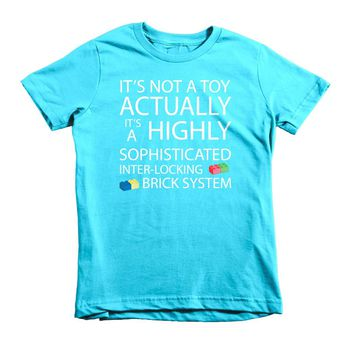 Lego Movie Quote Girls Fitted Princess T-Shirt