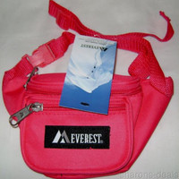 "Childrens Fanny Waist Pack Hot Pink Everest Junior Signature Adjustable 15""-59"""