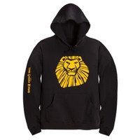 The Lion King: The Broadway Musical Simba Fleece Hoodie for Adults | Disney on Broadway | Disney Store