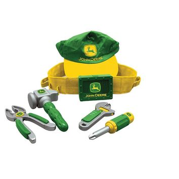 John Deere Deluxe Talking Tool Belt Set