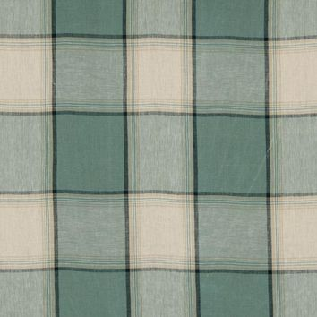 Robert Allen Fabric 215683 Vintage Plaid Stream