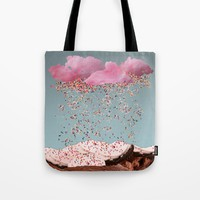 Just a Sprinkle Tote Bag by ObviousMoth
