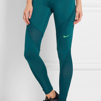 Nike - Pro Hypercool stretch-jersey leggings