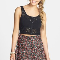Lush Button Front Skater