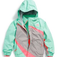 The North Face Toddler Girl's 'Mountain View' Hooded Waterproof TriClimate 3-in-1 Jacket,