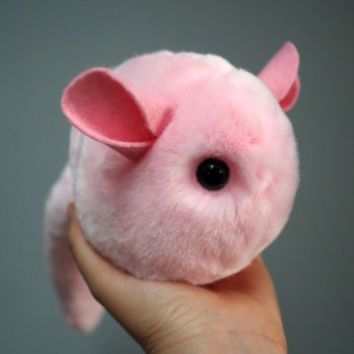 Super Fluffy Chinchilla Plush! - Pinkie