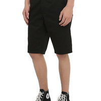 RUDE Black Workwear Shorts
