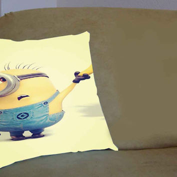 despicable me minions banana cute - Pillow Case, Pillow Cover, Custom Pillow Case **