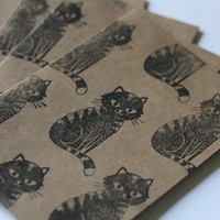 Note Card Set - Krafty Cats