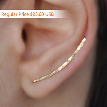 NEW YEARS SALE - Ear Climbers x2, Earring Pins, Earring Climbers, Ear Pins, Climber Earrings, Ear Crawlers, Earrings Pin