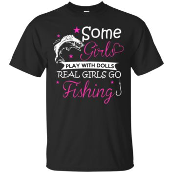 Ladies Funny Fishing Tee Shirt