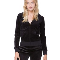 Juicy Low Gothic Velour Robertson Jacket