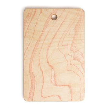 Rebecca Allen Blush Marble Cutting Board Rectangle