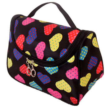 Cute Cosmetic Travel Organizer Accessory Toiletry  Make Up Bag