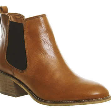 Office Jenkins Chelsea Boots Brown Leather - Ankle Boots