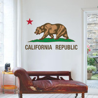 California Republic Wall decal