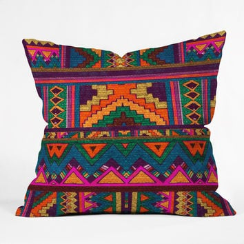 Kris Tate Xocop Throw Pillow