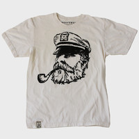 Natural Old Sea Captain T-Shirt
