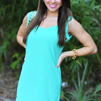 Let's Watch The Sunset Dress: Bright Jade | Hope's