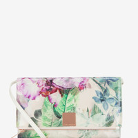 Pure peony clutch bag - Dusky Pink | Bags | Ted Baker UK