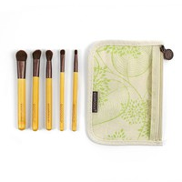 EcoTools 6-pc. Essential Eye Makeup Brush Set (Bamboo/Natural)