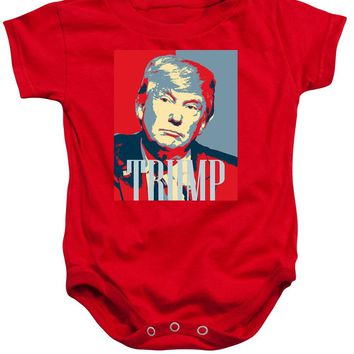 President Donald Trump Hope Poster 2 - Baby Onesuit