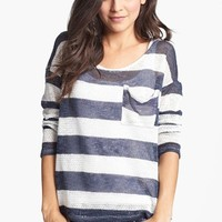 Painted Threads Stripe Sweater (Juniors) (Online Only) | Nordstrom