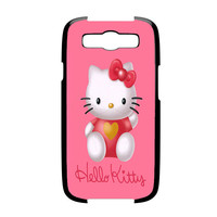 Hello Kity Love Suit Samsung Galaxy S3 Case