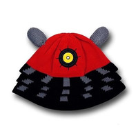 Doctor Who Red Dalek Beanie Hat