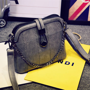 Stylish Vintage Style Small Leather Crossbody HandFashion Bag Shoulder Fashion Bag