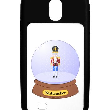 Nutcracker Snow Globe - Red Gold Black Galaxy S4 Case  by TooLoud