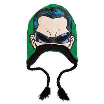 ICIK8UT Batman Riddler Mask Peruvian Knit Hat
